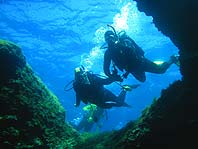 One of the Caves in our diving offer