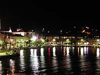 Supetar, Brac island @ night