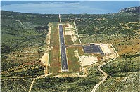 Airport on Brac island